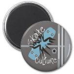 Skate Culture Refrigerator Magnets