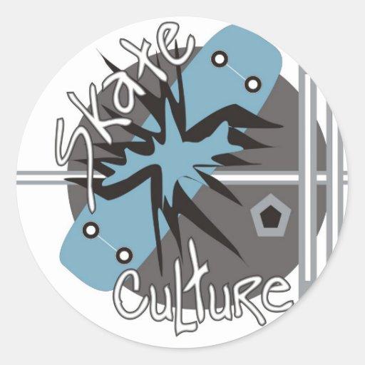 Skate Culture Sticker