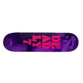 skate deadly7 sport clothing skate board