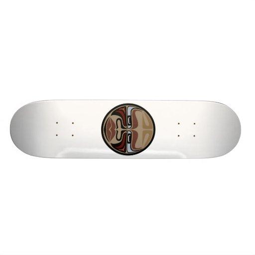 Skate Deck: Buffalo Mask