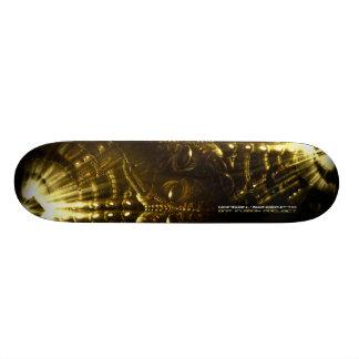Skate deck by Morgan Designs/Sangenitto