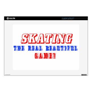 "skate  design 15"" laptop decal"