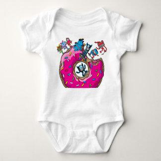 Skate donut baby bodysuit