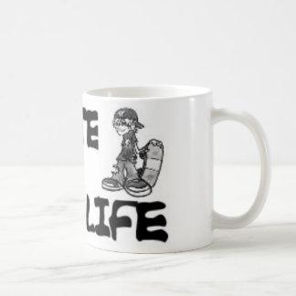 skate for life mug