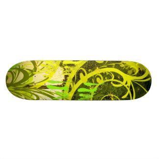 Skate Green Paint Skateboard