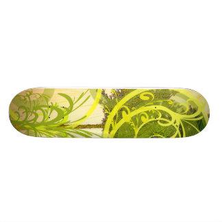 Skate Green Skateboard Deck