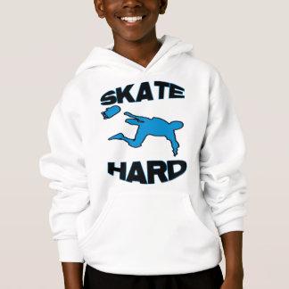 Skate-Hard-blue Hoodie