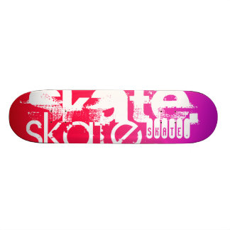 Skate; Hot Pink; Magenta Gradient Skateboard Deck