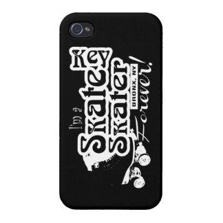 Skate Key Forever! [Black iphone] iPhone 4 Case