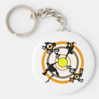 Skate Key Chain