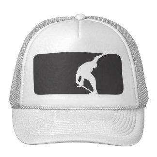 Skate League - White Cap Trucker Hat