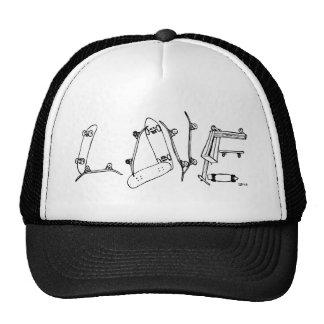 skate-love hats