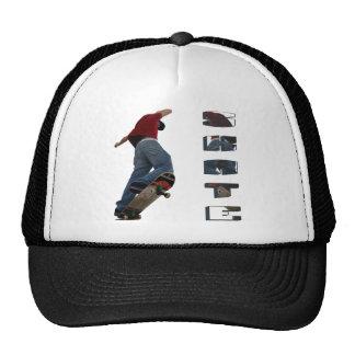 Skate Manual Mesh Hats
