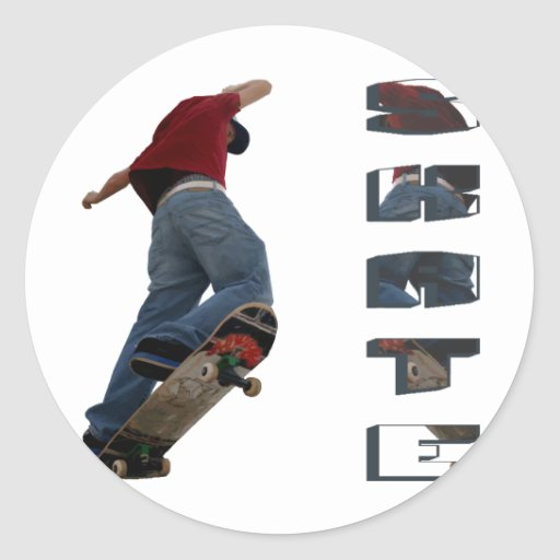 Skate Manual Stickers