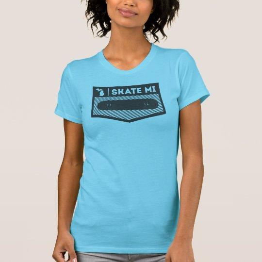Skate MI WMS Hanes Michigan T-Shirt