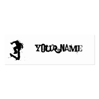 skate on business card