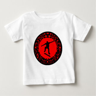 SKATE ON RED BABY T-Shirt