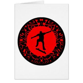 SKATE ON RED CARD