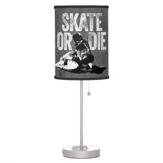 Skate Or Die (Hockey) Desk Lamp