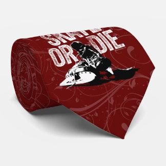 Skate Or Die (Hockey) Neck Tie