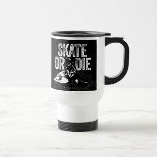 Skate Or Die (Hockey) Travel Mug