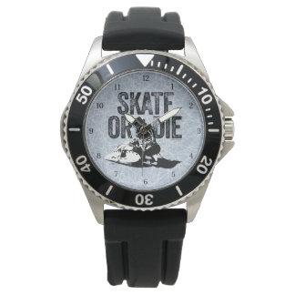 Skate Or Die (Hockey) Wrist Watch