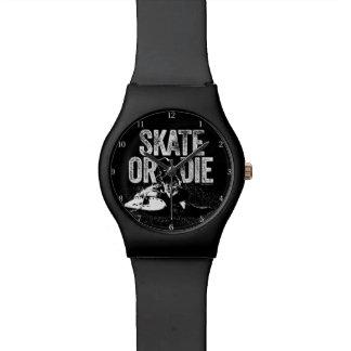 Skate Or Die (Hockey) Wristwatch