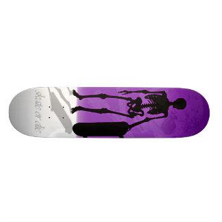 skate or die skeleton deck skate boards