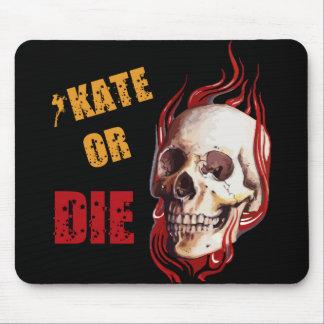 Skate or Die Skull MouseMat Mouse Pad