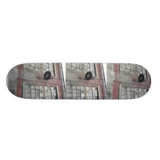 Skate over broken windows skateboard