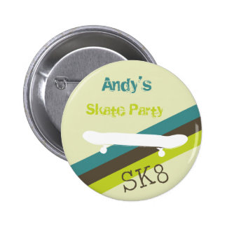 Skate Party Button