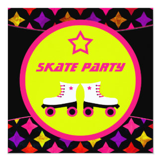 Skate Party Card