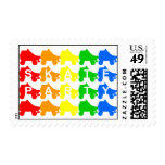 skate party : rainbow quads stamps