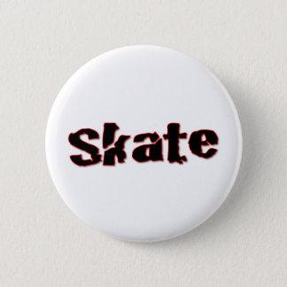 Skate Pinback Button