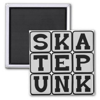 Skate Punk, Music Genre Magnet