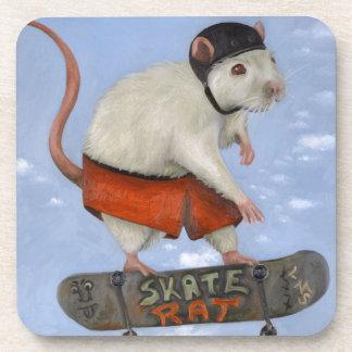 Skate Rat Beverage Coaster