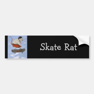 Skate Rat Bumper Sticker