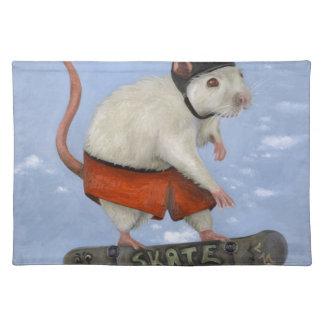 Skate Rat Cloth Placemat