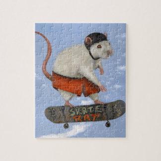 Skate Rat Jigsaw Puzzle
