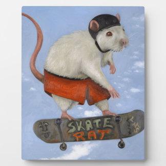 Skate Rat Plaque