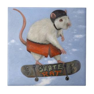Skate Rat Tile