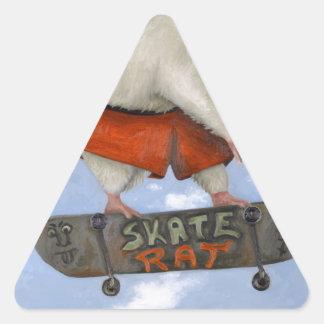 Skate Rat Triangle Sticker
