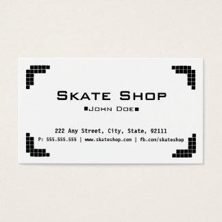 Skate Shop Business Card