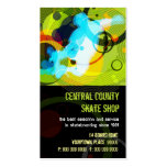 Skate Shop PopArt Business Card