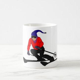 skate,skee classic white coffee mug