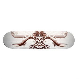 """Skate """"smiling Skull """" Skateboard Deck"""