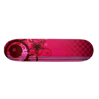 "Skate ""Stars and circles "" Skateboard Deck"