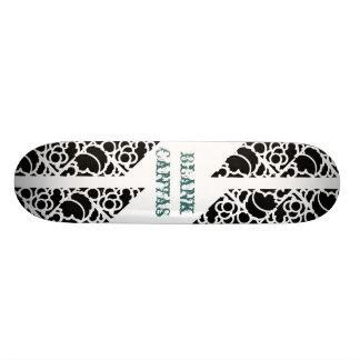 Skate Stencil Blank Canvas Skate Board