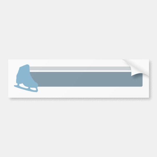 Skate Stripes Bumper Sticker