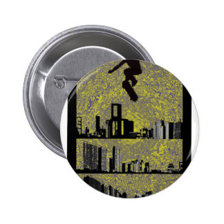 skate the side 2 inch round button